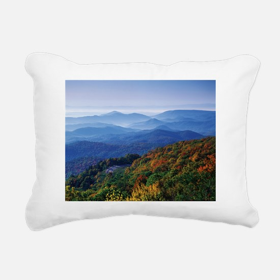 Blueridge Parkway Landsc Rectangular Canvas Pillow