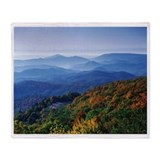 North carolina Fleece Blankets