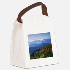 Blueridge Parkway Landscape Canvas Lunch Bag