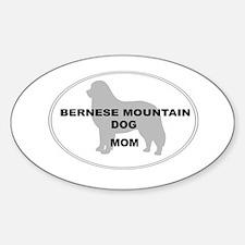Berner Mom Oval Decal
