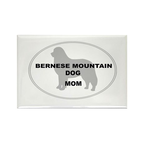 Berner Mom Rectangle Magnet (100 pack)