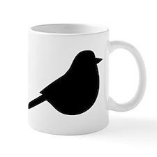 Meadowlark Bird Silhouette Mugs