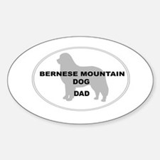 Berner Dad Oval Decal