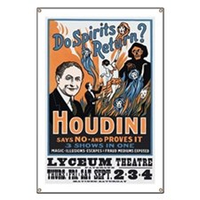 Houdini Magic Show Poster Banner