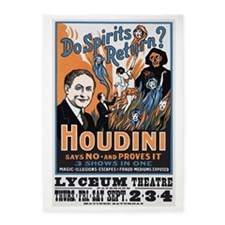 Houdini Magic Show Poster 5'x7'Area Rug
