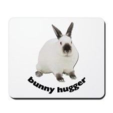Bunny Hugger Mousepad