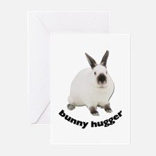 Bunny Hugger Greeting Cards (Pk of 10)