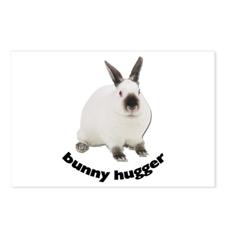 Bunny Hugger Postcards (Package of 8)