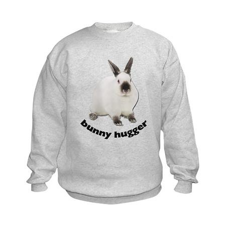Bunny Hugger Kids Sweatshirt