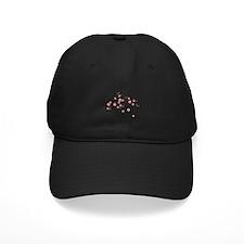 Cherry Blossom Flowers Branch Baseball Hat