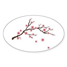 Cherry Blossom Flowers Branch Decal