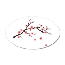 Cherry Blossom Flowers Branch Wall Decal