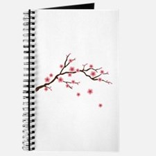 Cherry Blossom Flowers Branch Journal