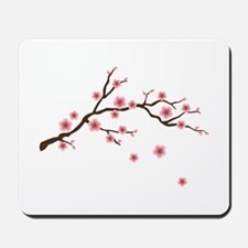 Cherry Blossom Flowers Branch Mousepad
