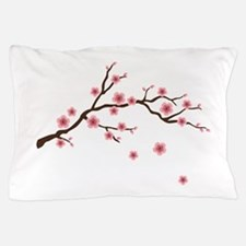 Cherry Blossom Flowers Branch Pillow Case