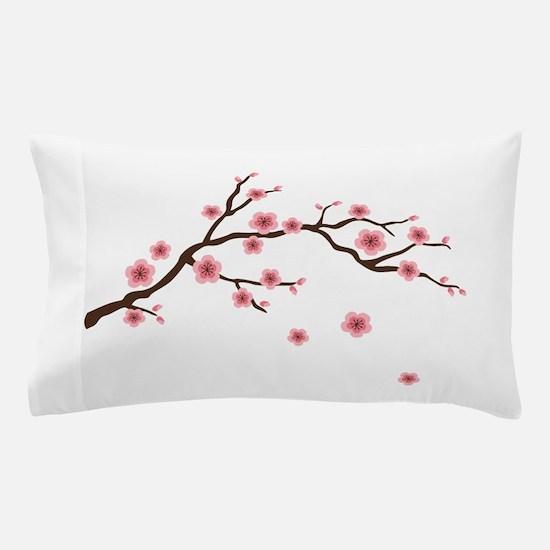 Cherry Blossom Flowers Branch Pillow Case
