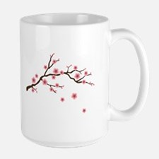 Cherry Blossom Flowers Branch Mugs