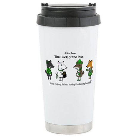 Luck of the Inus 2013/2 Stainless Steel Travel Mug