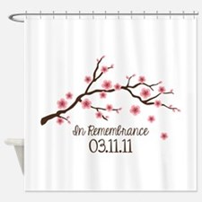 In Remembrance 03.11.11 Shower Curtain