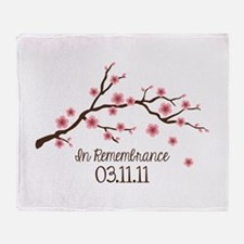 In Remembrance 03.11.11 Throw Blanket