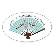 CHERRY BLOSSOM FESTIVAL Decal