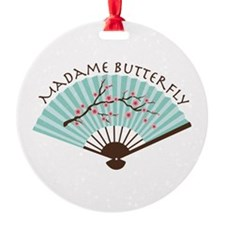 Madam Butterfly Ornament