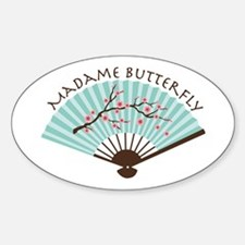Madam Butterfly Decal