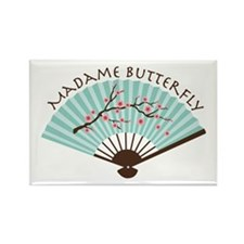 Madam Butterfly Magnets