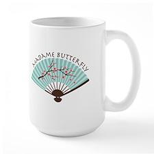 Madam Butterfly Mugs