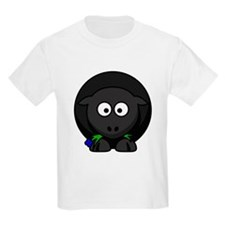 Cartoon Black Sheep T-Shirt