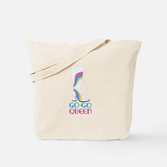 GO-GO QUEEN Tote Bag