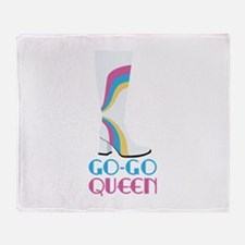 GO-GO QUEEN Throw Blanket