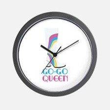 GO-GO QUEEN Wall Clock