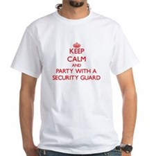 Keep Calm and Party With a Security Guard T-Shirt
