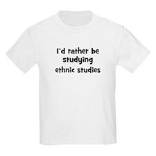 Study ethnic studies T-Shirt