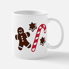 Lebkuchen man candy cane Mug