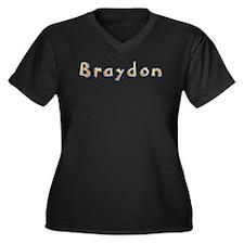 Braydon Giraffe Plus Size T-Shirt