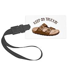Keep On Truckin Luggage Tag