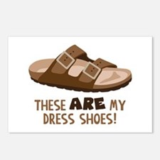 These Are My Dress Shoes! Postcards (Package of 8)