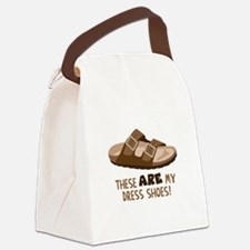 These Are My Dress Shoes! Canvas Lunch Bag