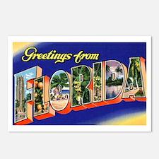 Florida Greetings Postcards (Package of 8)