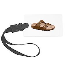 Hippie Birkenstock Sandal Luggage Tag