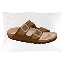 Hippie Birkenstock Sandal Pillow Case