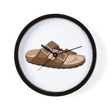 Hippie Birkenstock Sandal Wall Clock