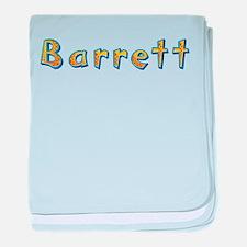 Barrett Giraffe baby blanket