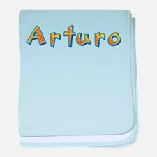 Arturo Giraffe baby blanket