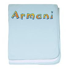 Armani Giraffe baby blanket