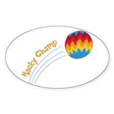 Hacky Champ Decal