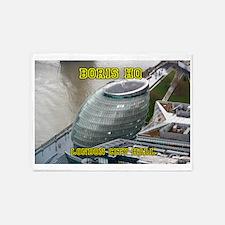 Boris HQ London City Hall 5'x7'Area Rug