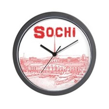 Sochi Wall Clock